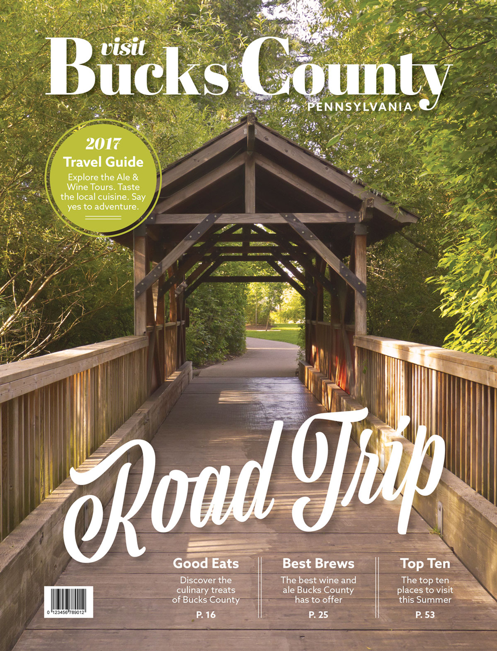 Visit Bucks County magazine cover
